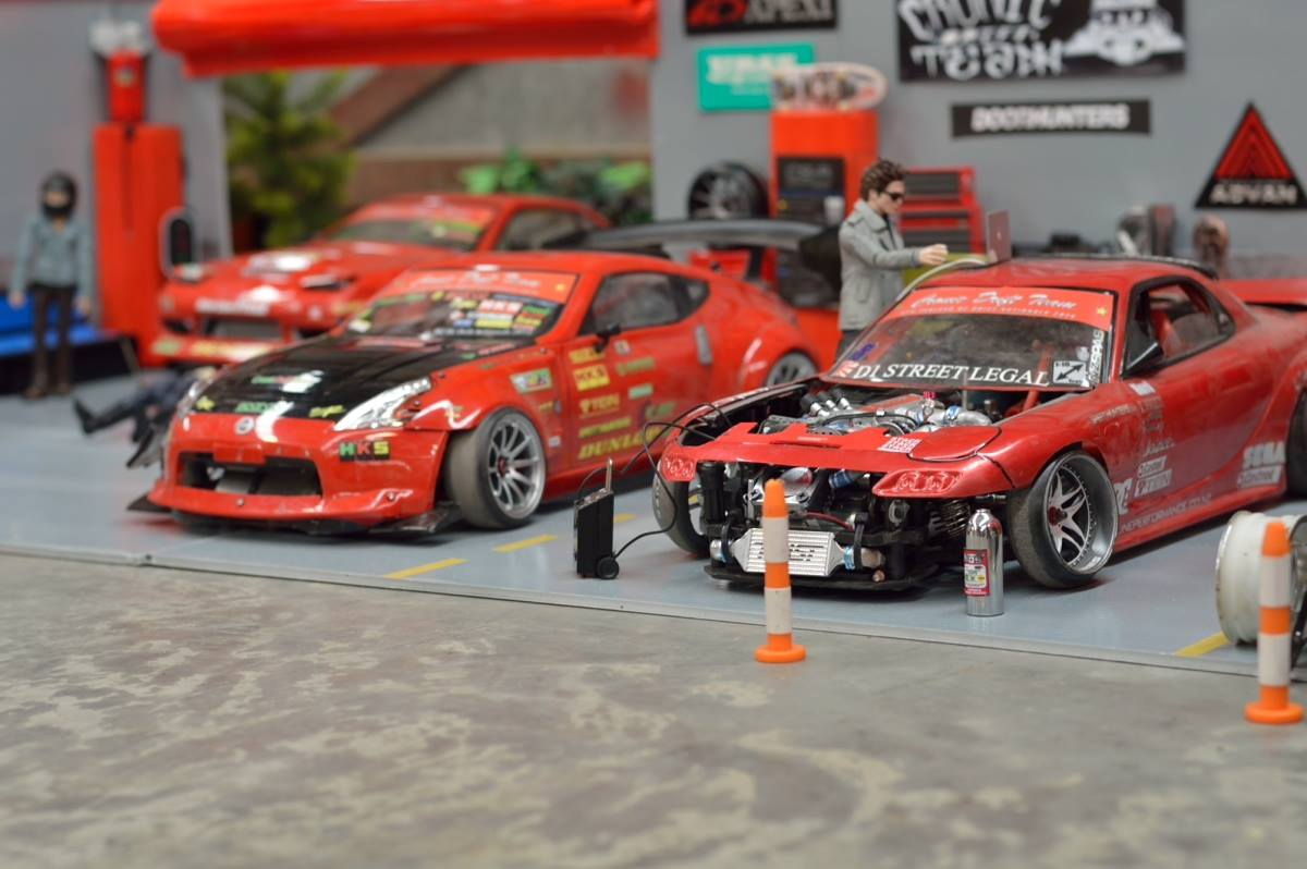 Rc Garage Pictures By Cdz Rc Drift Track Team Rcmart Blog
