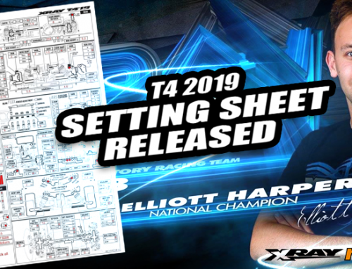 Xray Team Driver – Elliott Harper T4 2019 @Setting Sheet Released