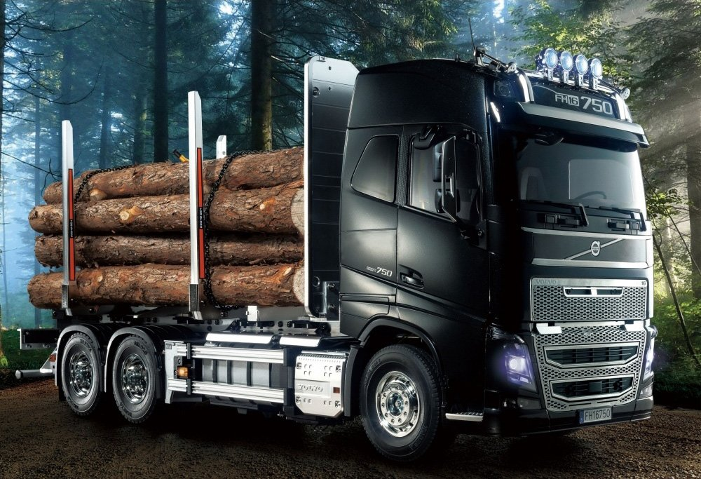 Tamiya-56360-Volvo-FH16-Globetrotter-750-6x4-Timber-1
