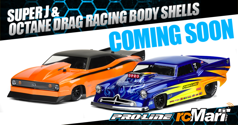 Pro-Line | Super J & Octane Drag Racing Body Shells @Coming