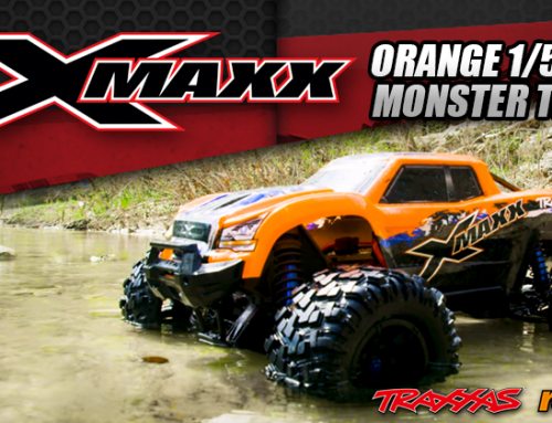 Traxxas | New Orange 1/5 4WD X-Maxx Monster Truck @Coming Soon #77086-4