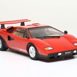 Tamiya 25419  1/24 Lamborghini Countach LP 500 S (Clear Coat Red Body)