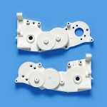 Tamiya 47403  WR-02CB A Parts (Gearbox) (White)