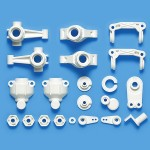Tamiya 47404  WR-02CB B Parts (Uprights) (White)