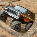 TRX-4 All-Terrain Traxx 8880-Bronco-Sunset-Trax-Front-Trees-DX1I7715