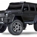 rcmart, blog, traxxas-82096-4blk, TRX-4 Mercedes-Benz G-500 Body Metallic Black 1/10 4WD Crawler Truck