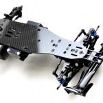 rcMart, blog, Exotek | New EFX2 F1 Carbon Chassis Conversion Kit for 3Racing FGX Evo #1896