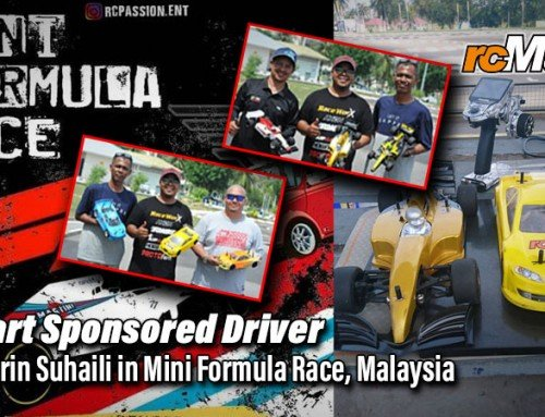 rcMart Sponsored Driver – Ashabirin Suhaili in Mini Formula Race, Malaysia