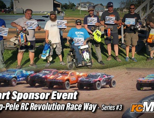 rcMart sponsor event – 2019 Cap-Pele RC Revolution Race Way – Series #3