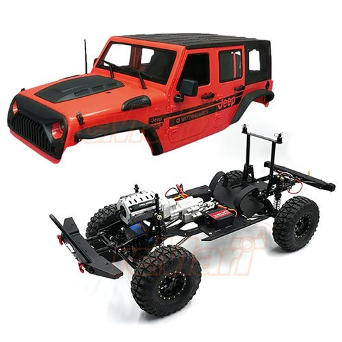 rcMart, blog, Xtra Speed XS01 1/10 Scale Crawler 313mm Car Kit XS-CAR-910 w/ Jeep Hard Plastic Body Kit Combo #CB2056
