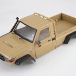 rcMart, blog, Killerbody 1/10 Toyota Land Cruiser 70 Matte Military Desert Hard Body Kit For Traxxas TRX-4 #48734