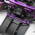 rcMart, blog, Yokomo, Aluminum adjustable suspension mount set for YD-2 (Purple/Bevel edge) Y2-301AP