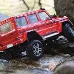 rcMart ,blog, Traxxas | New TRX-4 Mercedes-Benz G 500 4x4² - RED Version #82096-4