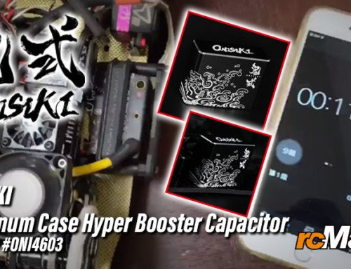 Onisiki | Aluminum Case Hyper Booster Capacitor @Review #ONI4603