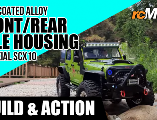 Yeah Racing | Hard Coated Alloy Front/Rear Axle Housing For Axial SCX10 II @Build & Action #AXSC-011