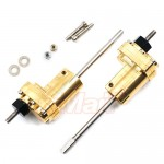 rcMart, blog, Xtra Speed SBX Brass Hi Lift Portal Rear Lock Out Set For AXIAL SCX10 II #XS-SCX-RBX