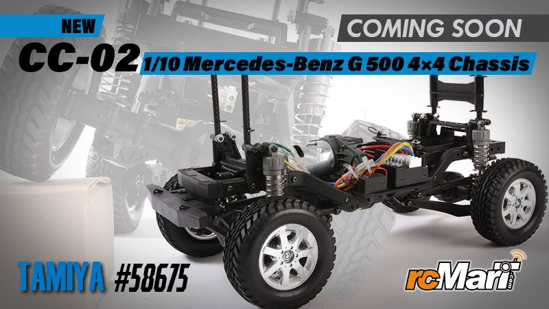blog-cover-Tamiya-New-CC-02-1-10-Mercedes-Benz-G-500-4×4-Chassis-@Coming-Soon-#58675