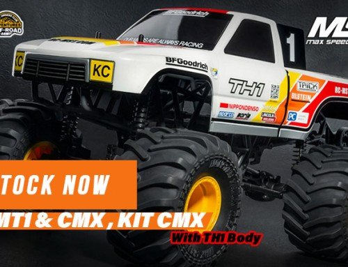 MST | 1/10 4WD Crawler RTR MT1 & CMX , KIT CMX With TH1 Body #531602W, #531507W, #532185