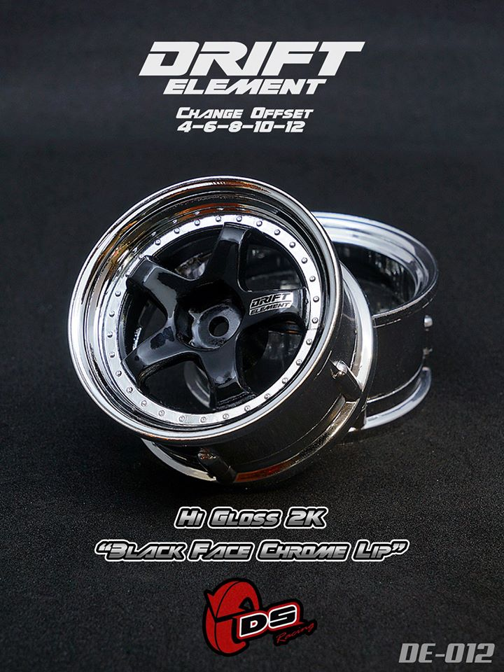 DS Racing New Element Wheels Collection - 7 Selected Chrome Color (1)