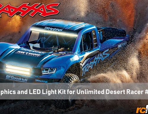 Traxxas |  New Graphics and LED Light Kit for Unlimited Desert Racer #85086-4
