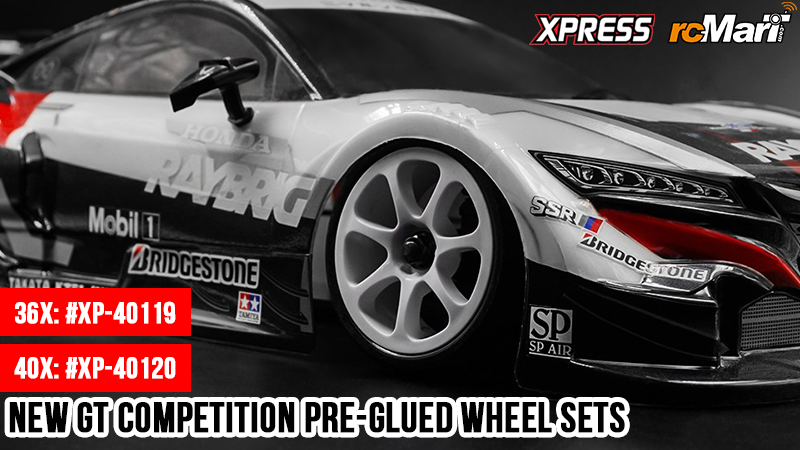 rcmart-blog-Xpress - New GT Competition Pre-Glued Wheel Sets #XP-40119 & #XP-40120
