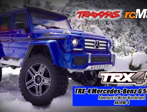 Traxxas | TRX-4 Mercedes-Benz G 500 4×4² – Adventure in Winter Wonderland #82096-4