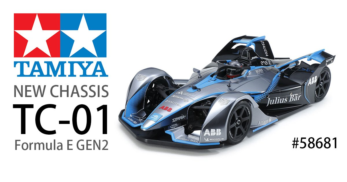 TAMIYA TC01 Formula E GEN2 RC CAR