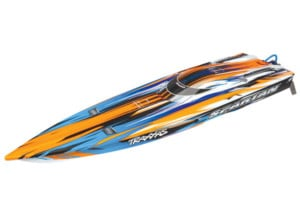 Traxxas Spartan M41 EP Boat New Paint